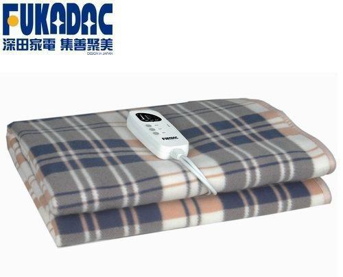 Chăn điện Nhật Bản FUKADAC chính hãng bảo hành 24 tháng