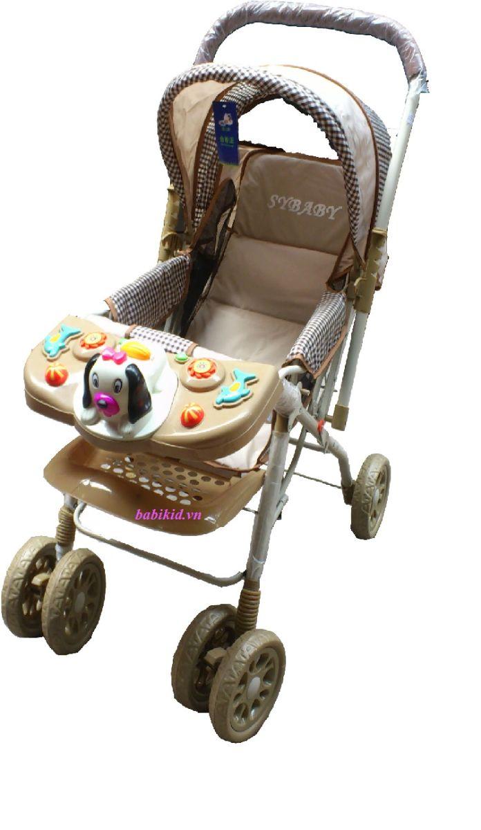 xe đẩy trẻ em 3 tư thế có bàn đồ chơi SY10