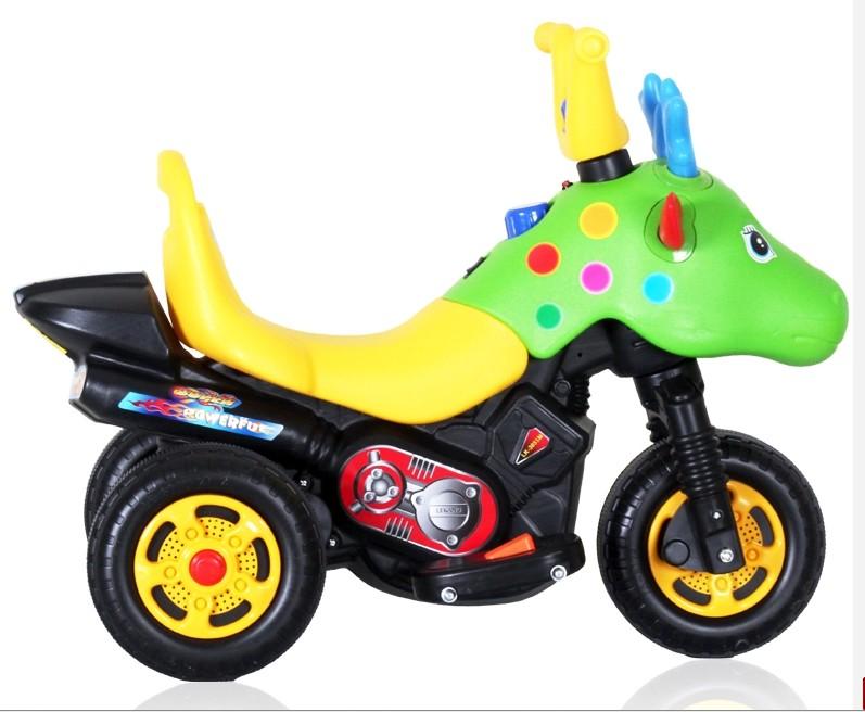 xe máy điện trẻ em tuần lộc có nhạc KL-3051