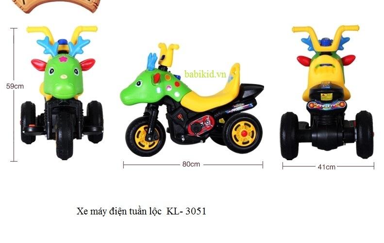 xe máy điện tuần lộc